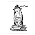 Grammar Owl Says Whom Postcards (Package of 8)