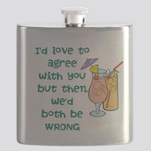 Not Agreeable Flask