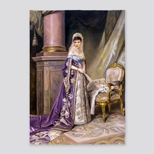 Makovsky: Empress Maria Fyodorovna 5'x7'Area Rug