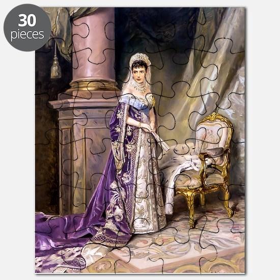 Makovsky: Empress Maria Fyodorovna Puzzle