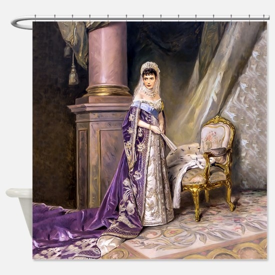 Makovsky: Empress Maria Fyodorovna Shower Curtain