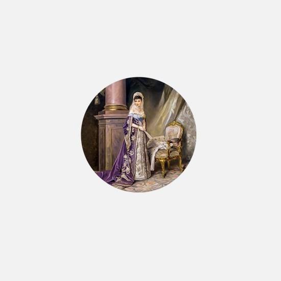 Makovsky: Empress Maria Fyodorovna Mini Button