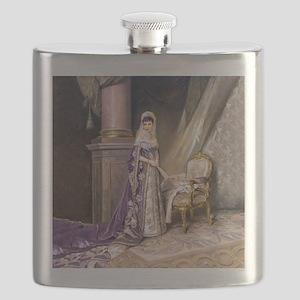 Makovsky: Empress Maria Fyodorovna Flask