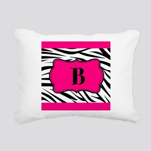 Personalizable Hot Pink Black Zebra Rectangular Ca