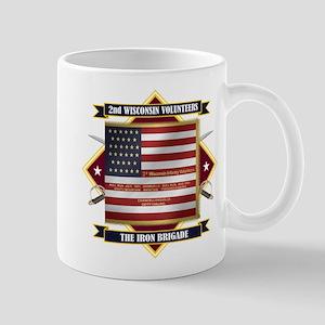 2nd Wisconsin Volunteers Mugs