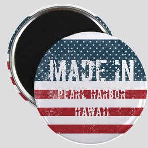 Made in Pearl Harbor, Hawaii Magnets