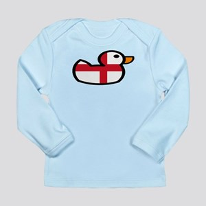 English Rubber Duckie Long Sleeve Infant T-Shirt