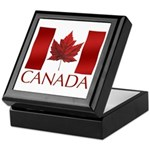 Canada Flag Souvenir Gift Boxes Keepsake Box
