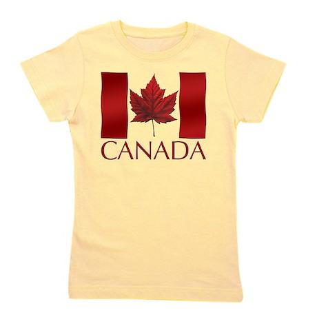 Canada Flag Souvenir Girl's Tee