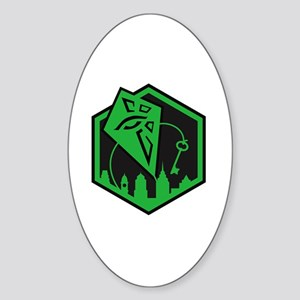 PIE dark logo Sticker (Oval)
