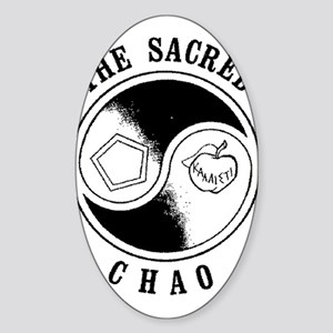 Sacred Chao Oval Sticker