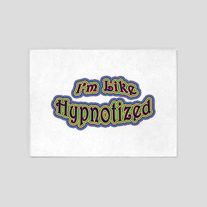 I'm Like Hypnotized 5'x7'Area Rug