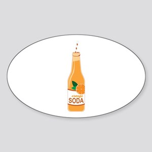 Orange Soda Sticker