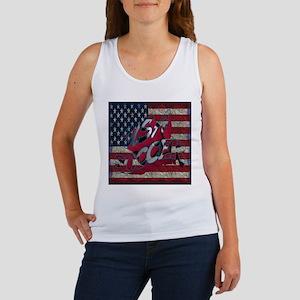 Flag USA Soccer Tank Top