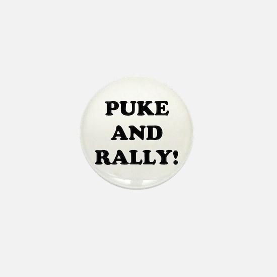 Puke & Rally<br> Mini Button