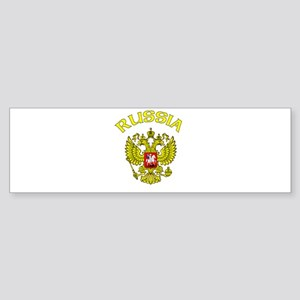RUssia Coat of Arms (Dark) Bumper Sticker
