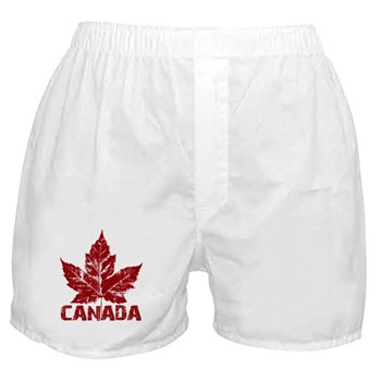 Cool Canada Souvenir Boxer Shorts