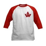 Cool Canada Souvenir Baseball Jersey Shirt Kid&#39