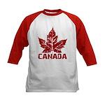 Cool Canada Souvenir Baseball Jersey Shirt Kid'