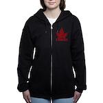 Cool Canada Souvenir Women's Zip Hoodie