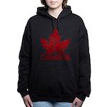 Cool Canada Souvenir Women's Hooded Sweatshirt