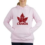 Cool Canada Souvenir Women's Hooded Sweatshirt