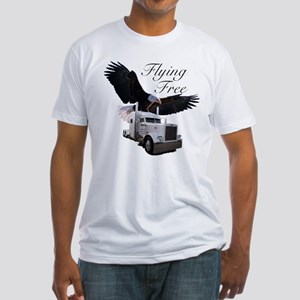 Flying Free Fitted T-Shirt
