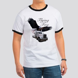 Flying Free Ringer T