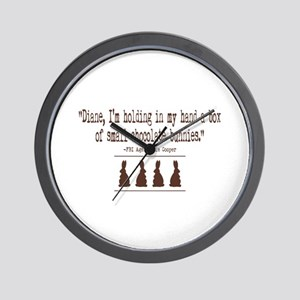 Twin Peaks Chocolate Bunnies Wall Clock