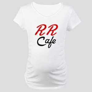 RR Cafe - Twin Peaks Maternity T-Shirt