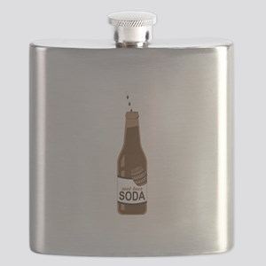 Root Beer Soda Flask