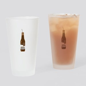 Root Beer Soda Drinking Glass