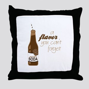 A Flavor You Can't Forget Throw Pillow