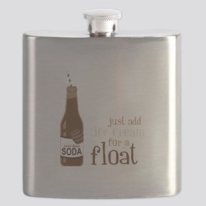Just Add Ice Cream For A Float Flask