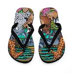 Colours Of Africa Flip Flops