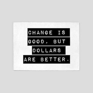 Change Is Good 5'x7'Area Rug