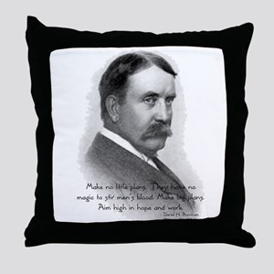 Daniel Burnham Chicago Architect Throw Pillow