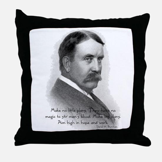 Daniel Burnham Chicago Architect Throw Pillow