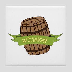 Whiskey Tile Coaster
