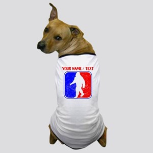 Custom Distressed Bigfoot League Dog T-Shirt