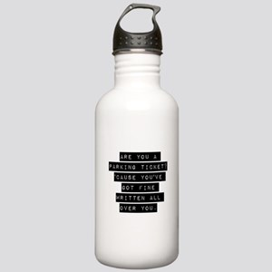 Are You A Parking Ticket Water Bottle