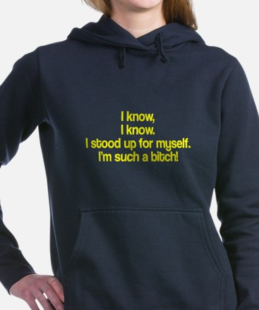 I know I know Women's Hooded Sweatshirt