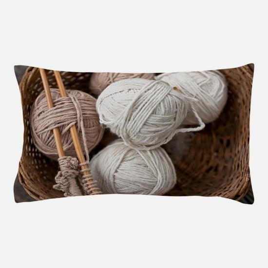 Balls of Yarn  Pillow Case