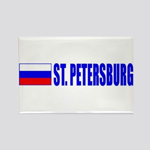 St. Petersuburg, Russia Rectangle Magnet