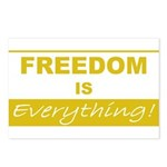Freedom is Everything Postcards (Package of 8)