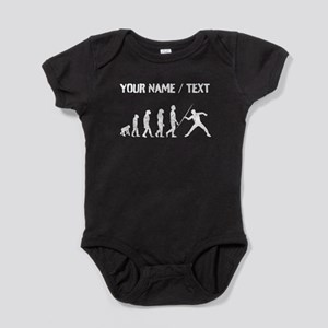 Custom Distressed Javelin Throw Evolution Baby Bod