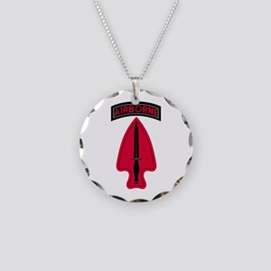 Special Operations Necklace Circle Charm