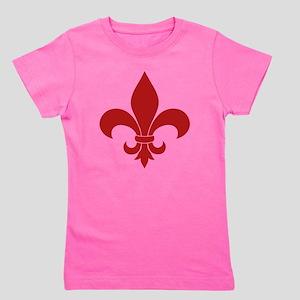 Fleur de lis French Pattern Parisian Design Girl's
