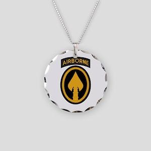 SOCOM Necklace Circle Charm