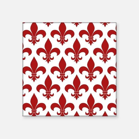 Fleur de lis French Pattern Parisian Design Sticke